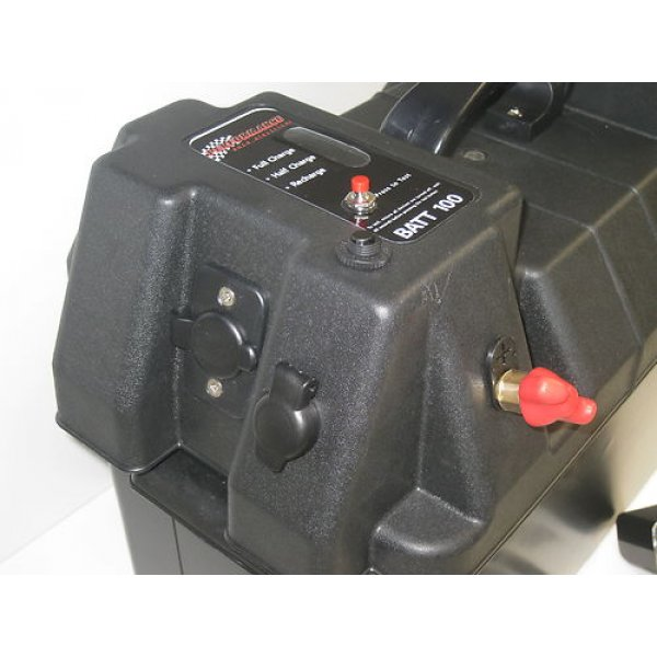 Battery Box V Ah Ah Agm Deep Cycle Dual Battery System Bonus Usb Charge on 12 volt voltage regulators