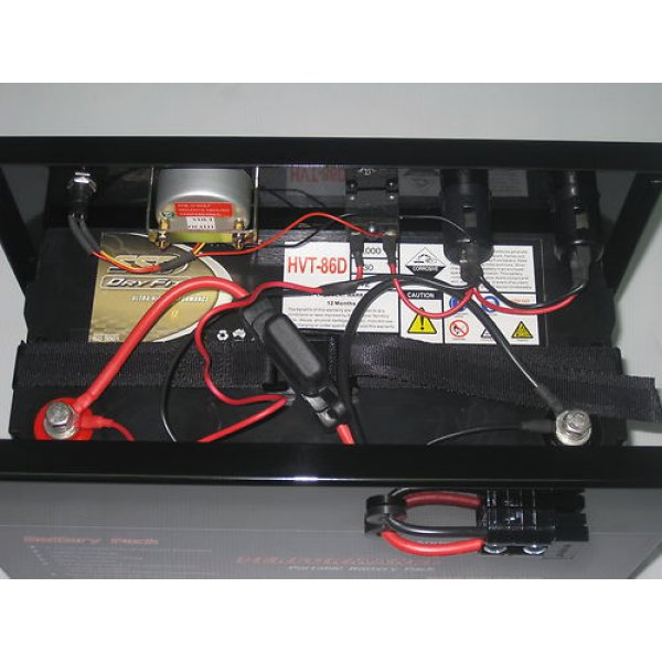 Innovative  Voltage Sensitive Soleniod Dual Battery System With Camper Battery
