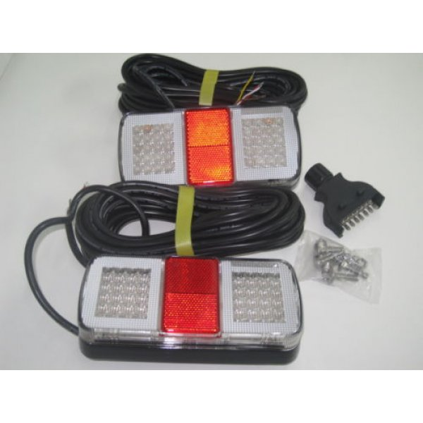 Led Submersible Trailer Lights For Boat Led Light Brake Car With 9m Cable
